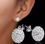 Womens-Multi-Gem-Earrings-Crystal-Ball-925-Sterling-Silver-Plated-Round-Ear-Stud thumbnail 2