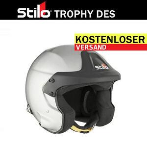 Helmet-STILO-Trophy-DES-Jet-HANS-SNELL-XS-S-M-L-XL-XXL-XXXL-FREE-DELIVERY-WORLD
