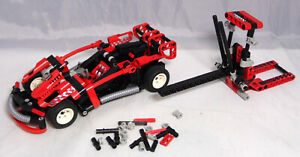 LEGO-Technic-8242-Slammer-Turbo-Rennwagen-mit-Katapult-Technik-komplett-17
