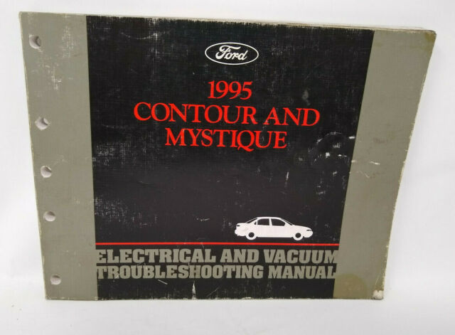 Oem 1995 Ford Contour    Mercury Mystique Electrical Wiring Diagrams Manual