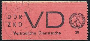 DDR-Dienst-MiNr-D-1-A-I-sauber-gestempelt-gepr-Paul-Mi-75