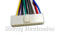 Wire Wiring Plug Harness For Pioneer Keh-2403