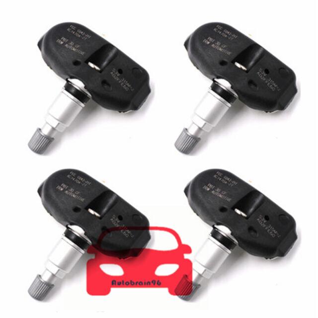 06421-S3V-A01 4Pcs Tire Pressure Sensor TPMS For Acura MDX