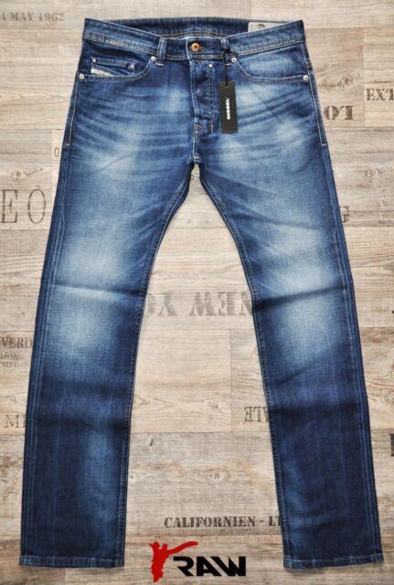 Mens Diesel Jeans Safado Regular Slim Straight C84MX New 30 31 32 33  RRP£150