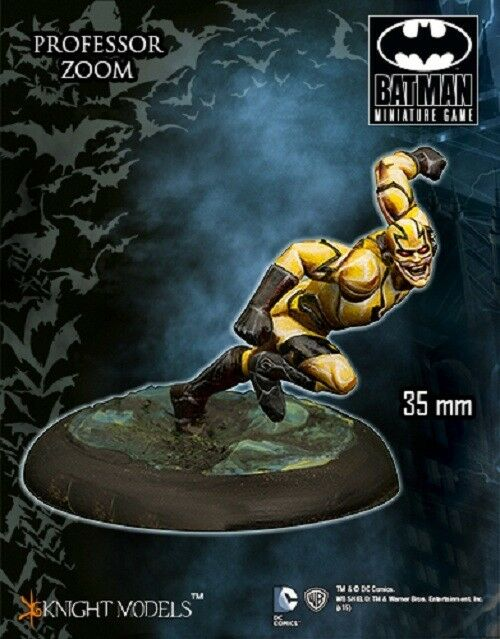 Professor Zoom 35mm Tabletop Miniature DC Batman Miniature Game Knight Models
