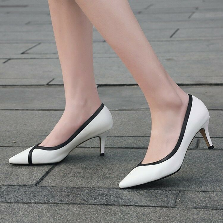 Womens Slim High Heels Pointed Toe Pumps Slip On Party Prom Elegant shoes Comfy
