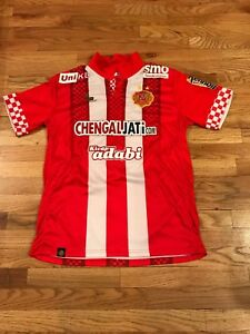 official photos 5be1d ef98d Details about Kelantan FA The Red Warriors FC Warrior XL Maxwell Soccer  Jersey 10 World Cup