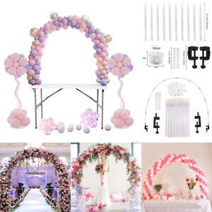 Ballon-Bogen-Set-Spalte-Stand-Basis-Frame-Kit-Geburtstag-Hochzeit-Party-Decor