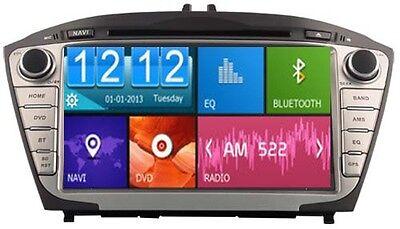 "AUTORADIO 8"" DVD/GPS/BT/IPOD/NAVI/RADIO PLAYER HYUNDAI TUCSON/ix35 09-11 D8270-2"