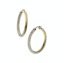 d5a24296a item 4 MICHAEL KORS MKJ2082710 BRILLIANCE Gold Tone Crystals Pave Hoop  Earrings MKJ2082 -MICHAEL KORS MKJ2082710 BRILLIANCE Gold Tone Crystals  Pave Hoop ...