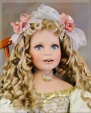 "Donna Rubert Princess Caroline LE Porcelain Artist Doll 32"" Beautiful and Rare"