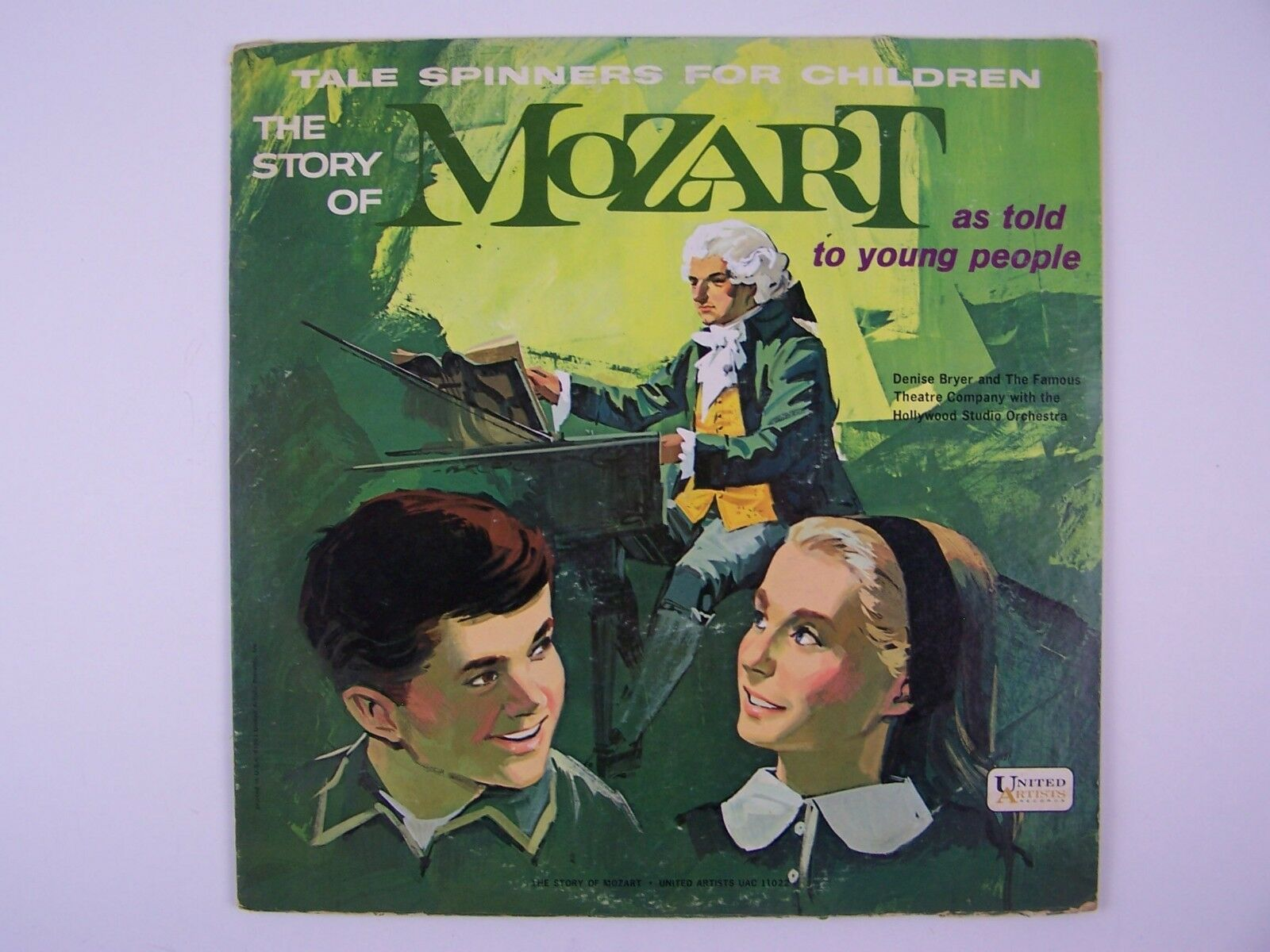 The Story Of Mozart As Told To Young People Vinyl LP Re