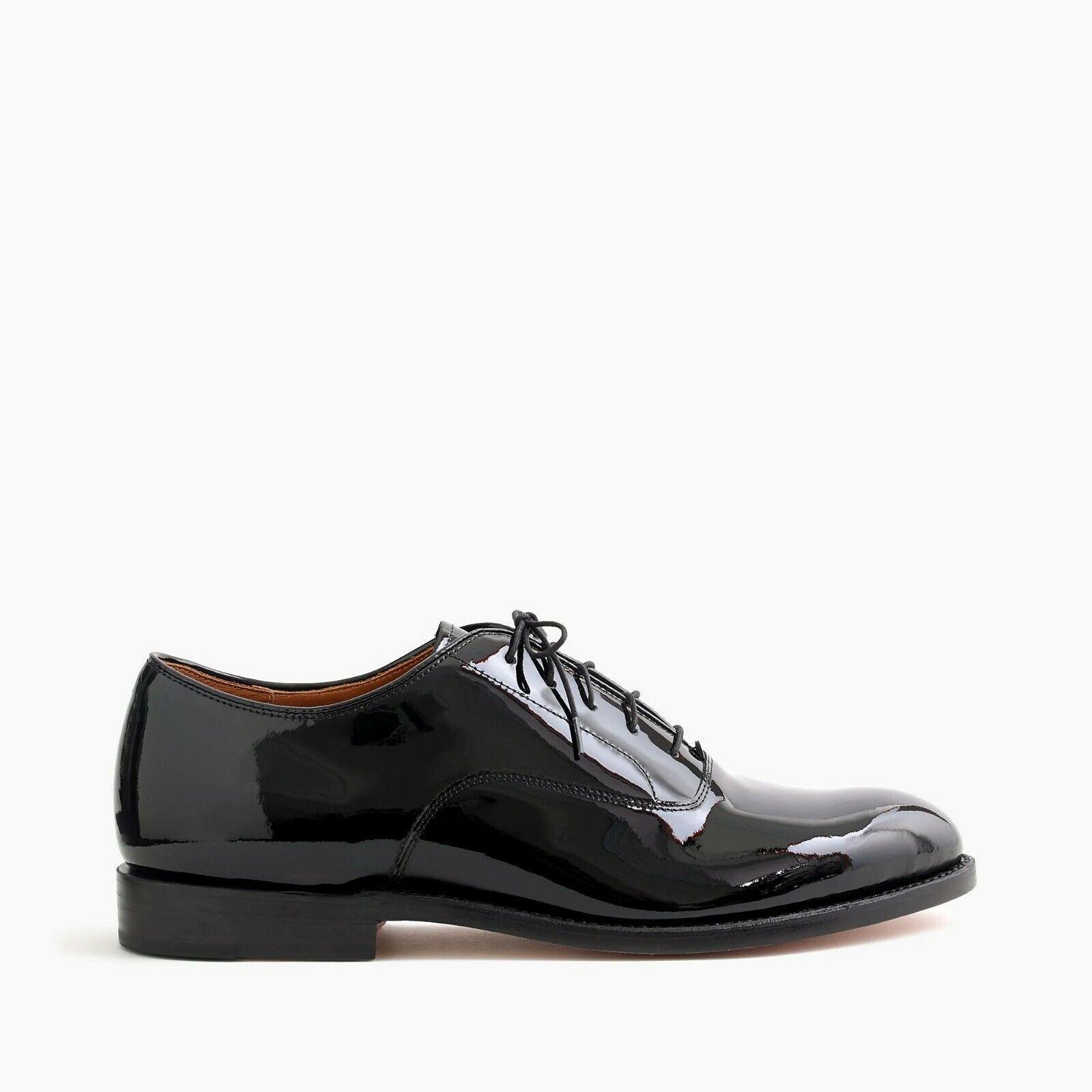 J. Crew Mens Ludlow Balmoral Tuxedo Dress shoes Black Formal Sz 12 orig  298 NIB