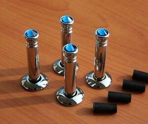 Mercedes Benz New Chrome Crystal Door Lock Pins A B C E Sl Cl Clk S Class Amg Ebay
