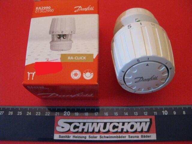 Danfoss 1 Ra 2990 Thermostat 013G2990 Ra 2000 Tête Thermostatique Soupape