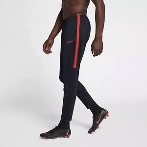 b445a91c17b46 Nike DRY Academy Soccer Pants Practice Drill Black Red 839363 Medium ...
