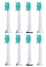 8X ProResults Replacement Brush Heads for Philips Sonicare Toothbrushes HX6014/3