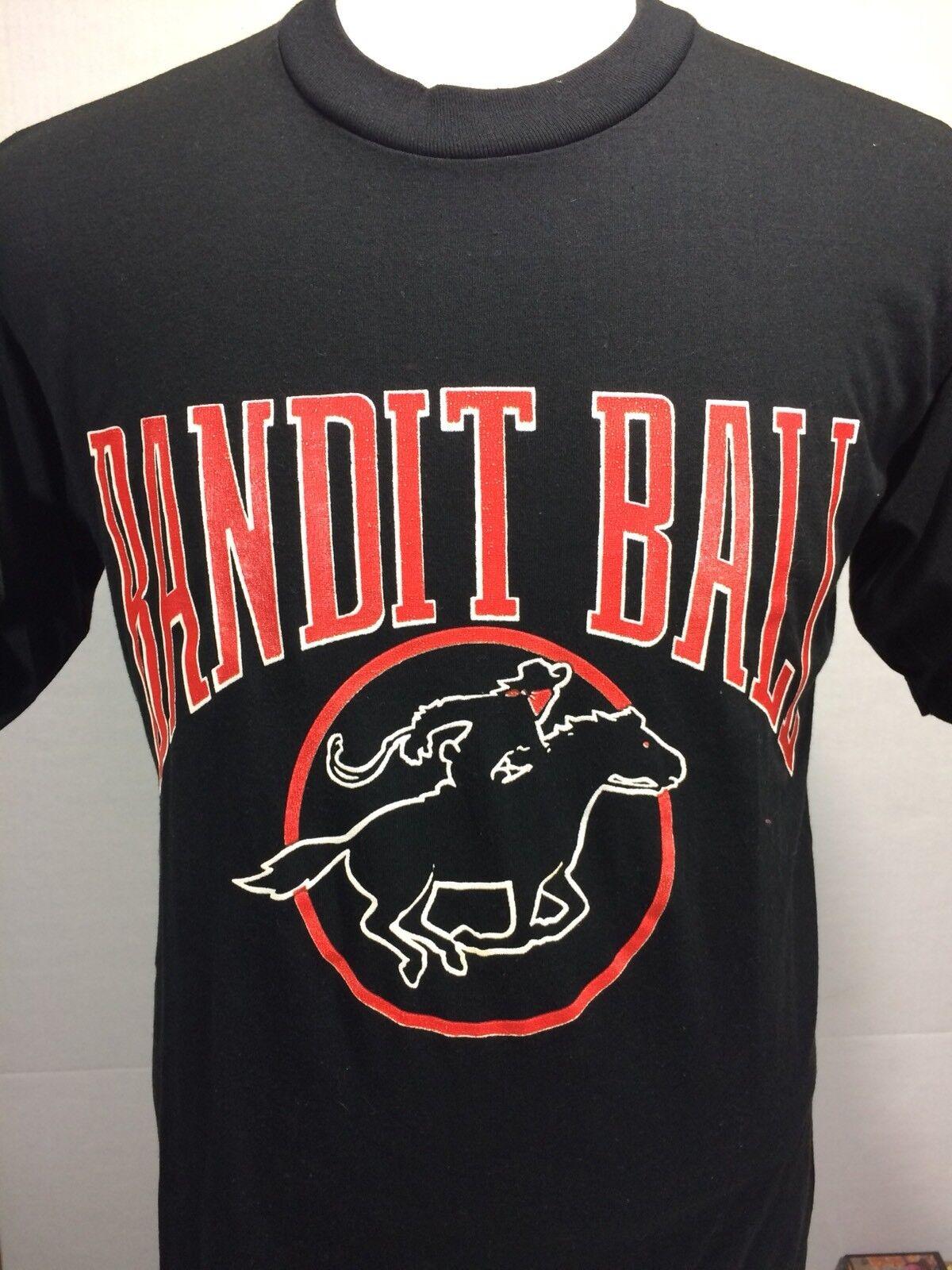 Vintage 80's Bandit Ball Logo 7 USA Tampa Florida Smokey NFL Football