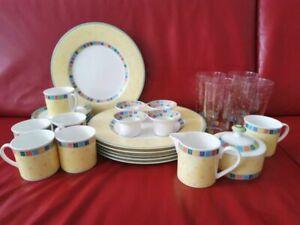 Villeroy Boch Summerday Schüssel Speiseteller Kaffetasse Suppenteller  Auswahl