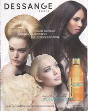 DESSANGE PARIS - PUBLICITE PRESSE ADVERT - COUPURE MAGAZINE 2014