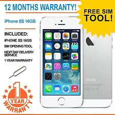 Apple iPhone 5s 16GB  Factory Unlocked - White - Faulty Touch ID
