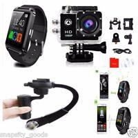 Sj4000 Waterproof 1080p Hd Gopro Style Action Camera + Smart Watch + Stabilizer