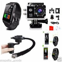 Sj4000 Waterproof 1080p Hd Gopro Style Action Camera + Smart Watch + Stabilizer