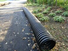 18 Plastic Coragated Culvert Pipe 20 Length New