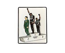1968 Olympics LAPEL PIN - Black Power Salute, Enamel, Tommie Smith, Mexico City