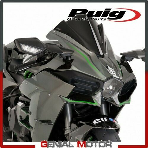 PUIG WINDSHIELD BLACK 7631N KAWASAKI NINJA 1000 H2 2015 / 2019