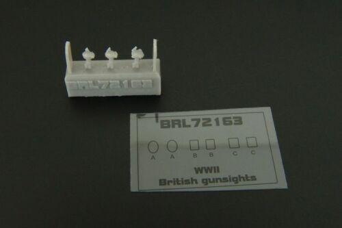 Brengun BRL72163 britannique de 1//72 Réflecteur Collimateur WWII