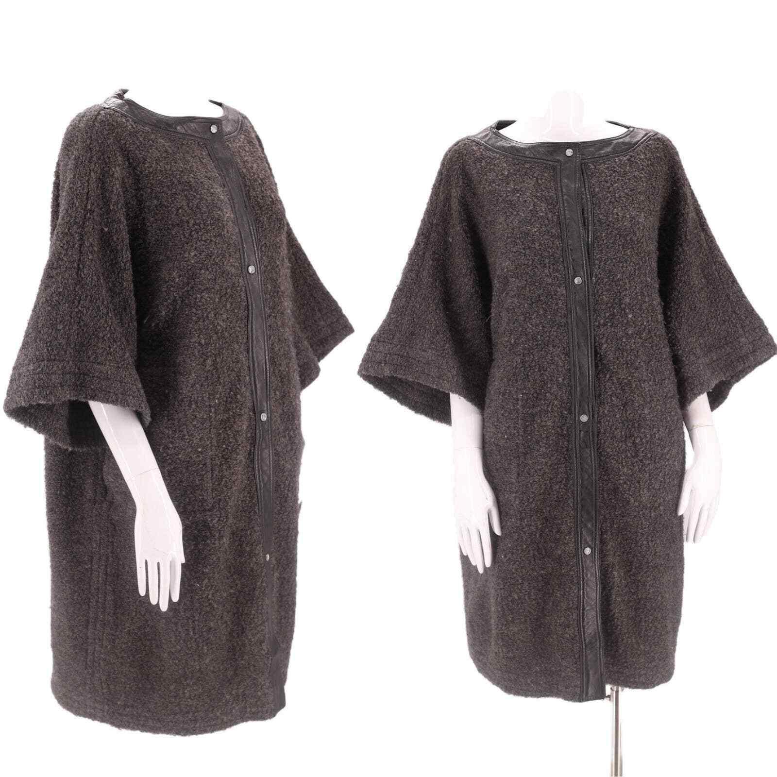 60s SILLS Bonnie Cashin gray wool coat vintage 19… - image 1