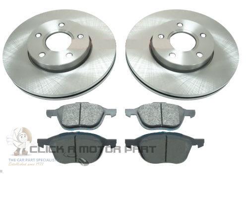 Ford Focus St 2,5 Mk2 decimal ST3 st225 05-11 Mintex Frontal Discos De Freno Y Almohadillas Nuevo