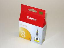 Genuine Canon CLI-8 yellow ink cli8y Pro 9000 Pro9000 Mark II printer CLI8 8