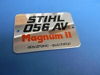Stihl Chainsaw 056 Magnum Ii Name Tag 1115 967 1506