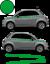 Fiat-500-Autocollant-Bandes-Stickers-adhesifs-decoration-couleur-au-choix miniatura 11