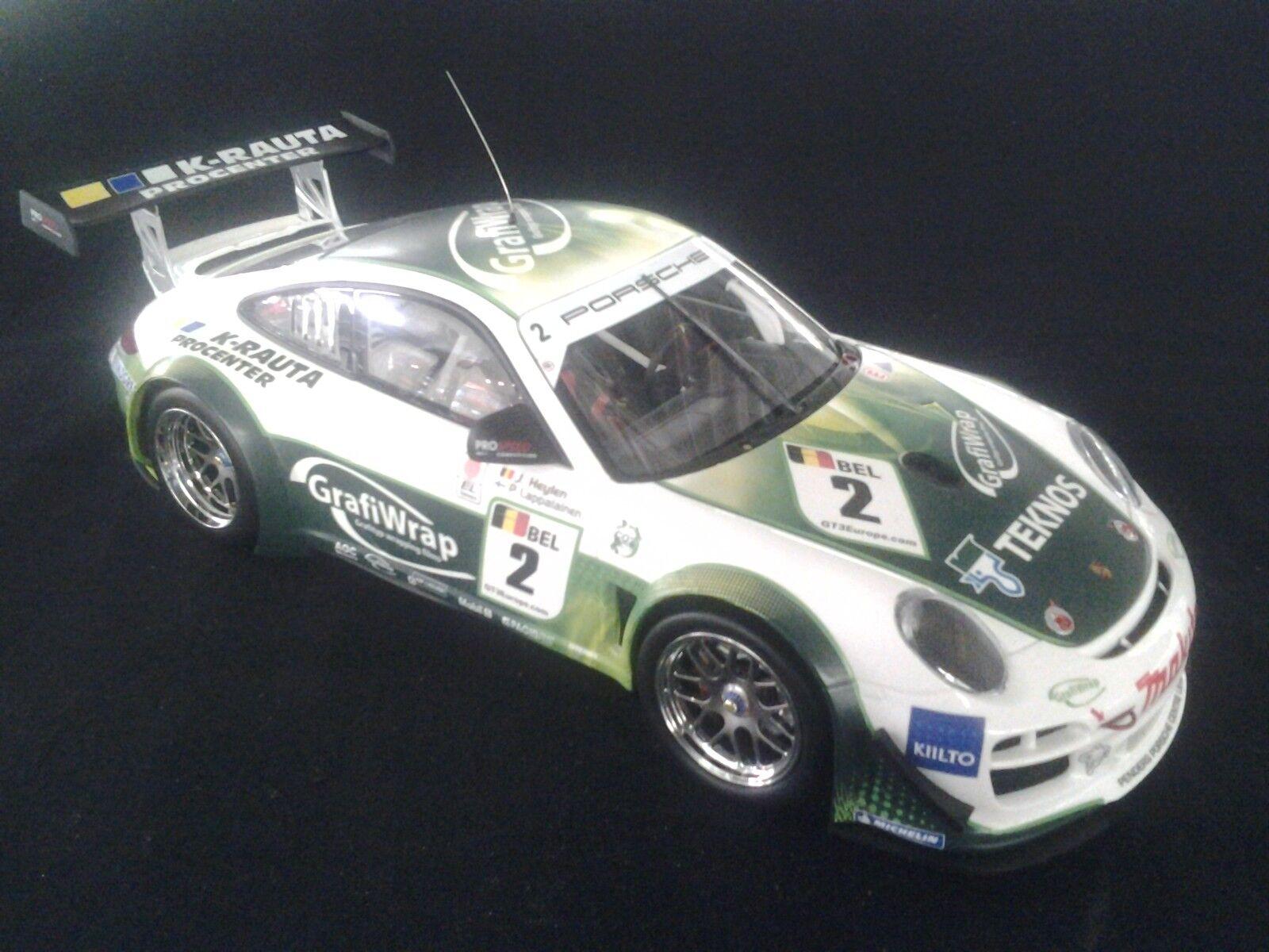 Minichamps Porsche 911    997  GT3 R 2011 1:18  2 Lappalainen / Heylen  MCC  796dd2