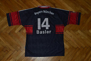 Bayern-Munchen-Munich-MARIO-BASLER-1997-99-Match-Worn-Player-Issue-jersey-shirt