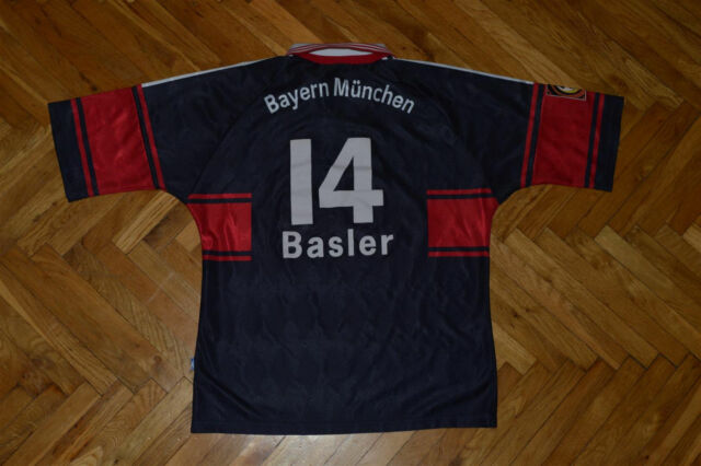 Bayern Munchen Munich MARIO BASLER 1997-99 Match Worn Player Issue jersey shirt