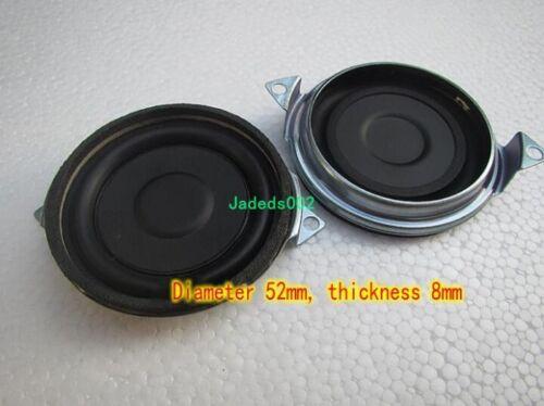 "2pcs 2/""inch 52mm Bass radiator Passive speaker Vibration plate woofer radiator"