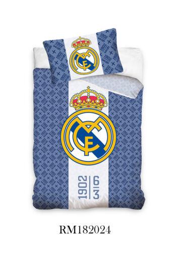 Real Madrid Ronaldo Single Duvet Cover Bedding Set 100/% cotton