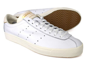 sale retailer f3254 229c1 Image is loading Adidas-Originals-Lacombe-SPZL-Spezial-White -Leather-Trainers-