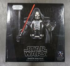 Darth Malgus Deluxe Mini Bust STAR WARS Gentle Giant /1430 MIB