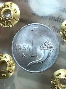 Republic-Italian-1-Lyre-Cornucopia-1954-FDC-Assessed