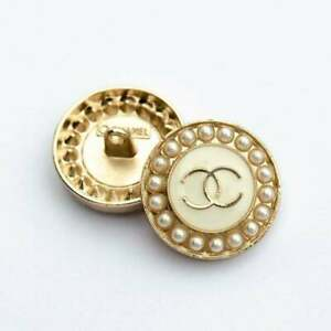 Stamped-Chanel-Buttons-2-pieces-pearl-amp-crystals-21-mm