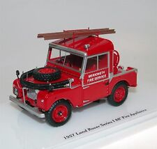 "TrueScale TSM Model, 1957 Land Rover Series I 88"" Fire Service, Feuerwehr 1/43"
