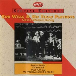 New-BOB-WILLS-amp-HIS-TEXAS-PLAYBOYS-Classic-Western-Swing-CASSETTE