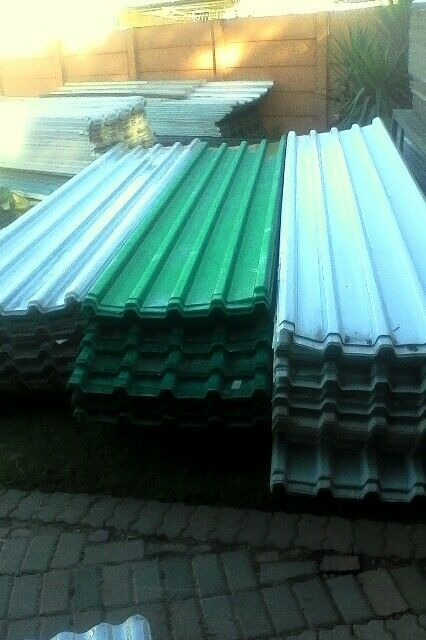 Discount Fibreglass and Polycarbonate roof sheeting