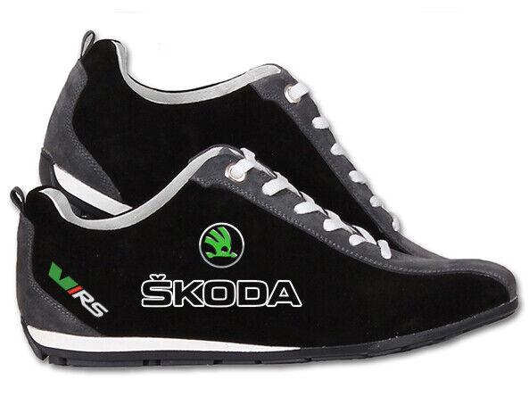 Neu Herrenschuhe Skoda RS schuhe sportkleidung mit gestickte embleme Turnschuhe