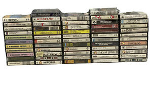 Huge Bundle 57x Mixed Tape Cassettes Joblot Frank Sinatra Louis Armsrtong & More